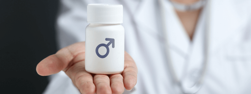Tem problema se eu usar um hormônio masculino?