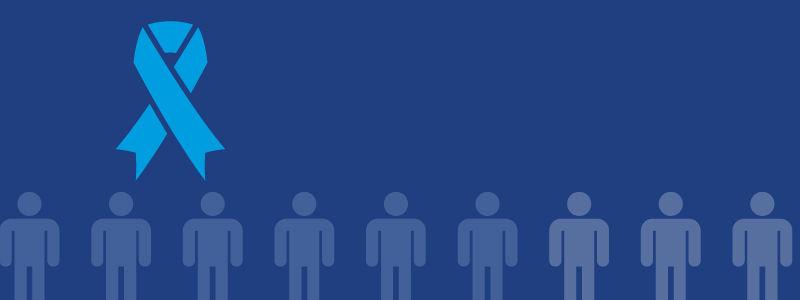 Novembro Azul – Infográfico com dados sobre Câncer de Próstata